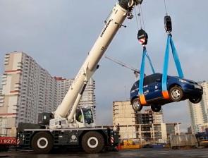 Новый автокран вездеход