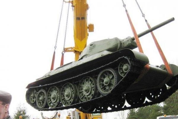 Установка танка