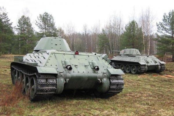 Всего установили 4 танка