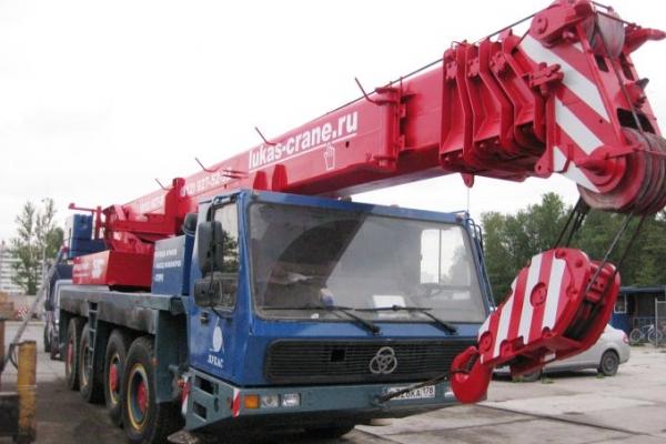 Автокран KRUPP 70 тонн