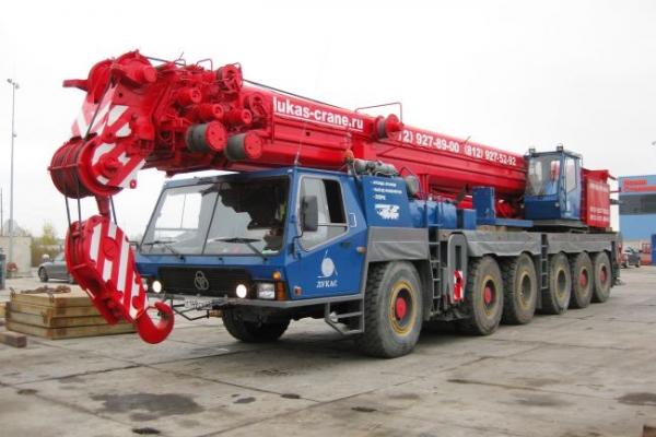 Автокран KRUPP KMK 6140 грузоподъемностью 140 тонн