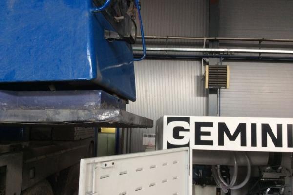 Монтаж оборудования GEMINIS